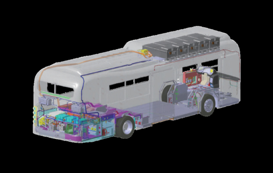 Low Floor City Bus – CNG & Electric
